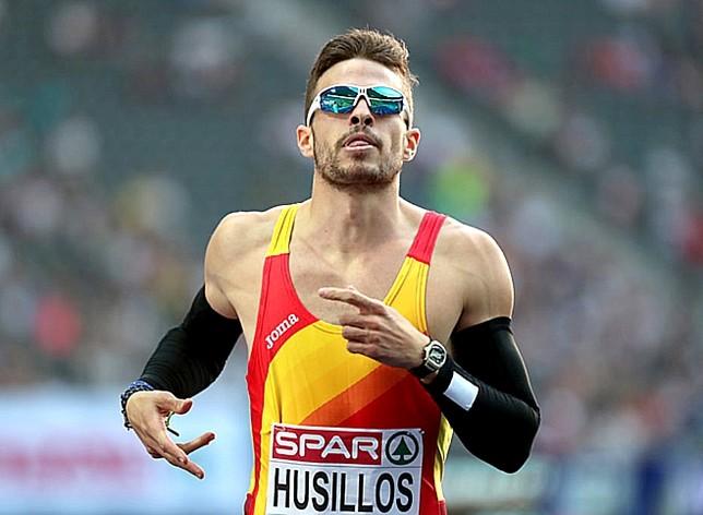 Óscar Husillos, atracción en las Pistas Antonio Prieto