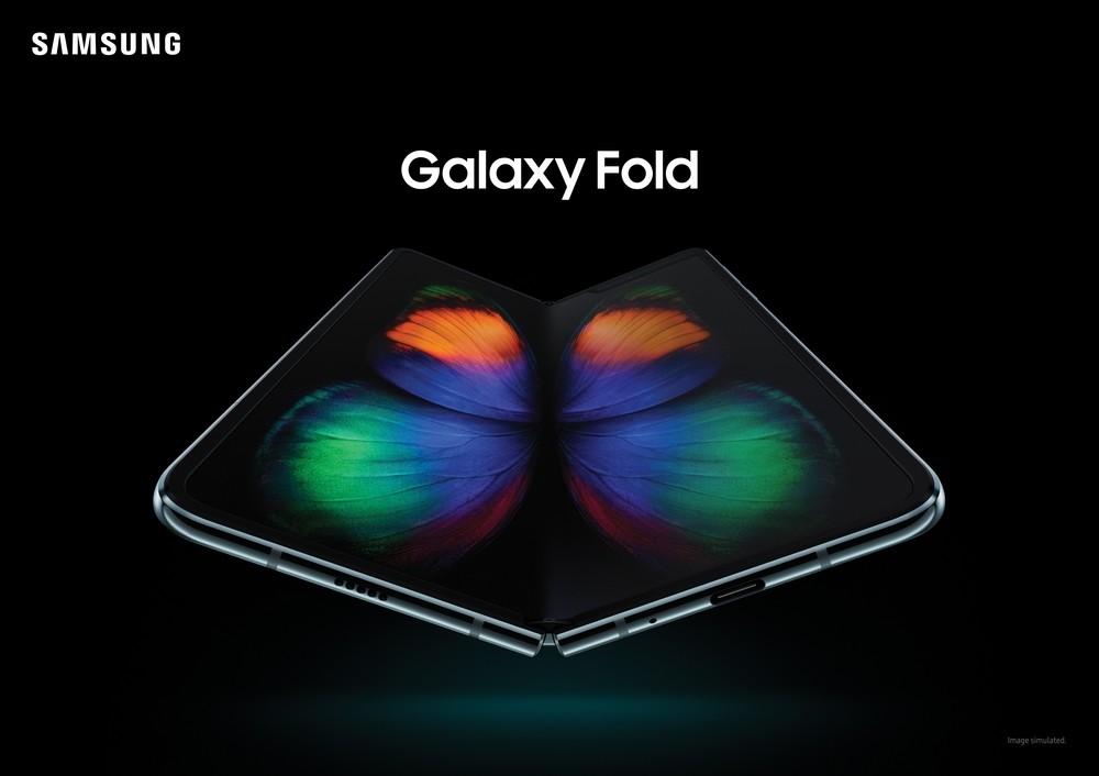 Llega el Galaxy Fold, el primer móvil de pantalla plegable