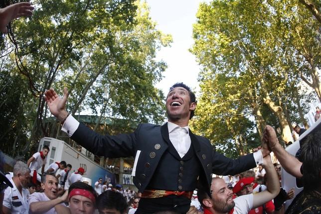 Leonardo Hernández triunfa en los rejones con cuatro orejas Javier Lizón