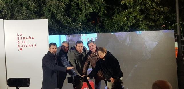 El PSOE consigue dos escaños y PP, Cs y Vox obtienen uno