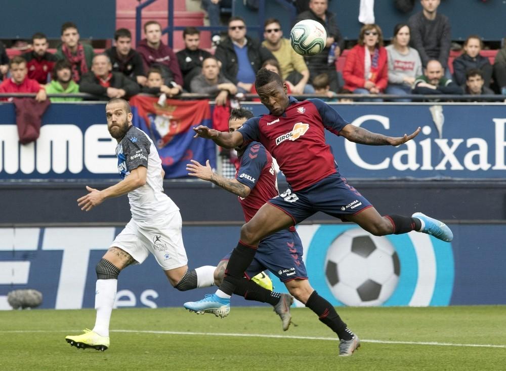 Osasuna hace historia frente al Alavés