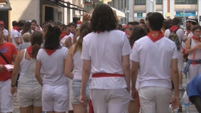 Una campaña para garantizar la salud sexual en Sanfermines ARCHIVO