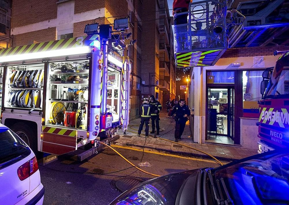 Fallece un hombre de 77 años  en un incendio en el Carmen