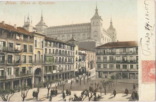 El viejo Toledo en los colores inventados de Purger