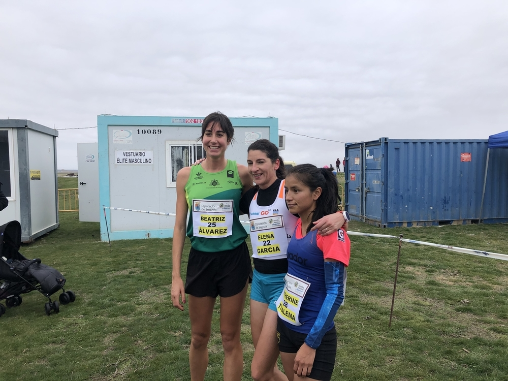 Thierry Ndikumwenayo y Elena García ganan en Cantimpalos