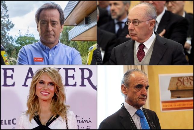 Caras conocidas en la nueva lista de morosos de España