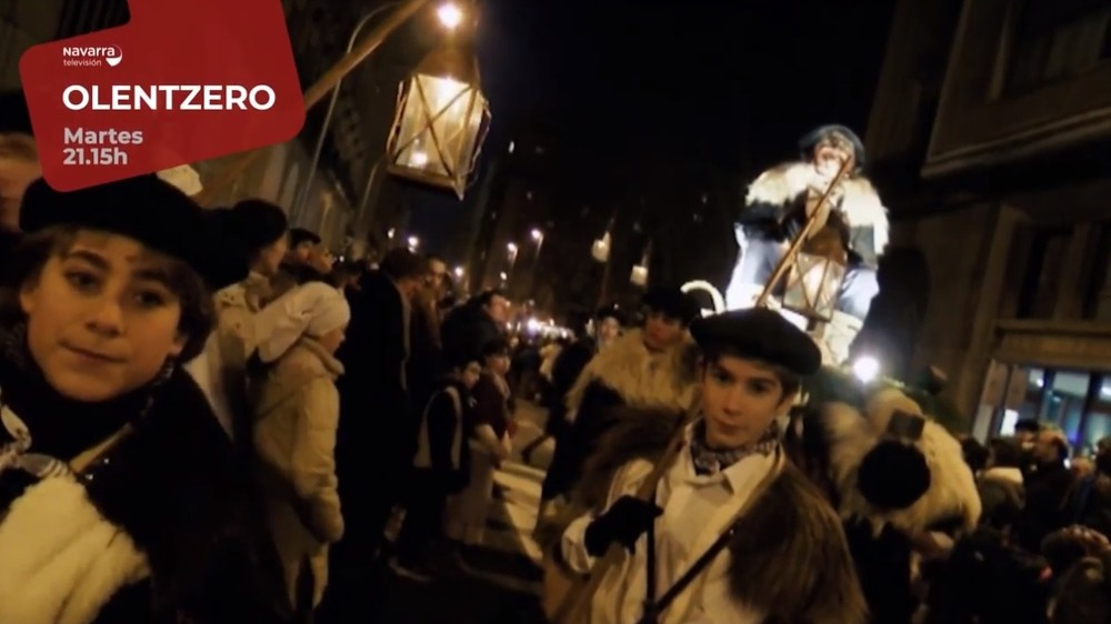 Olentzero llega esta Nochebuena a Navarra Televisión