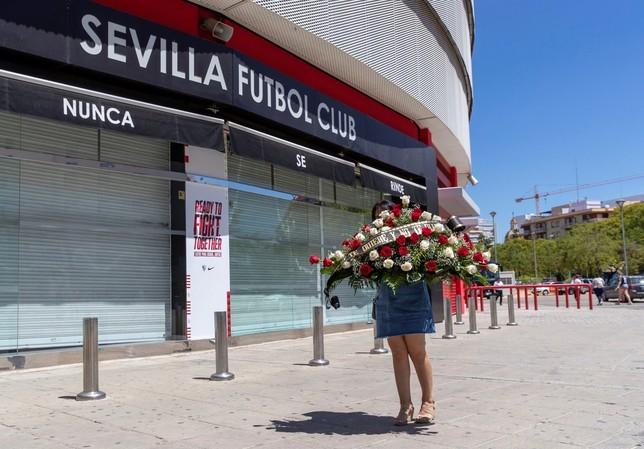 El Sánchez Pizjuán se despide de Reyes entre ovaciones Julio Muñoz