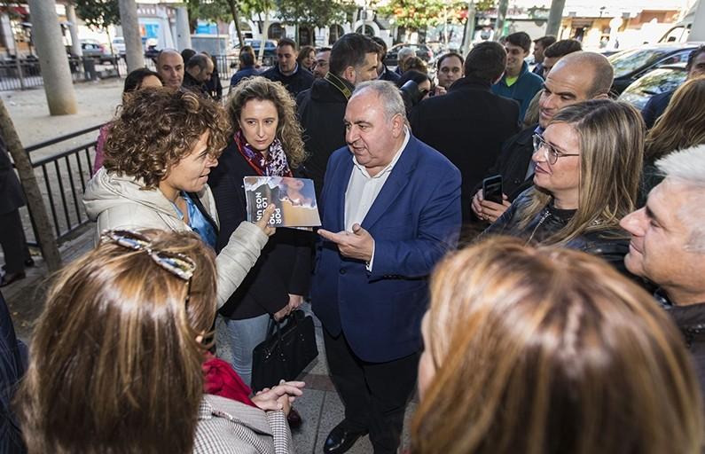 Montserrat (PP): «Solo el PP puede echar a Sánchez»