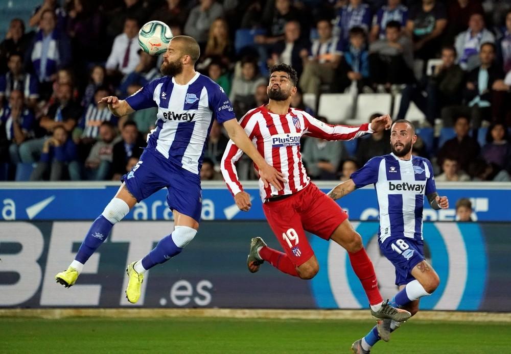 Lucas Pérez frustra al Atlético