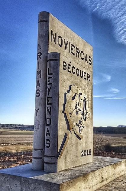 Bécquer, visible en el paisaje de Noviercas