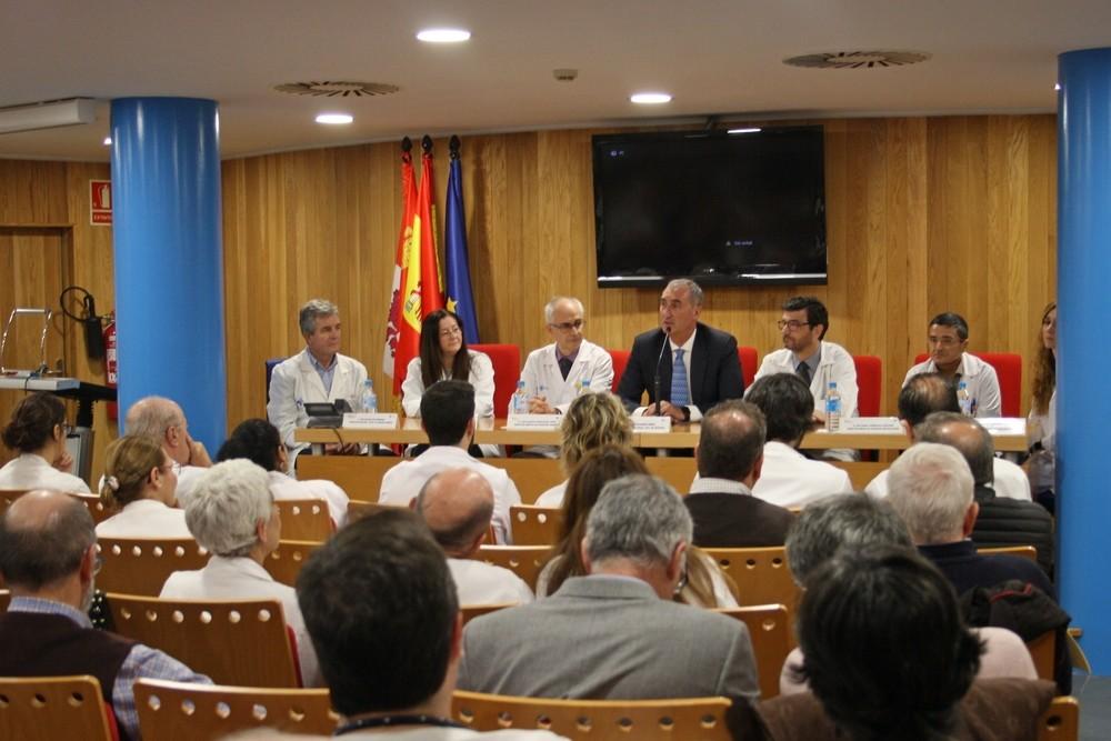 Así queda el 'staff' de la Gerencia Sanitaria de Segovia