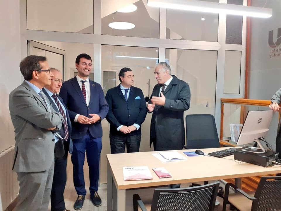 Rioseco abre la oficina del Área de Rehabilitación Urbana