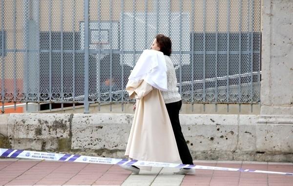 La lluvia obliga a cancelar 8 procesiones del Jueves Santo