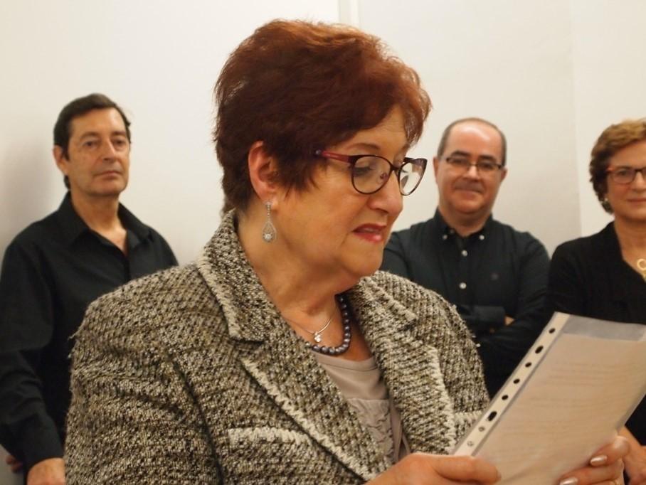 Marcela Sancho agradece la concesión del galardón que otorga la Diócesis