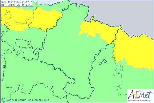 El temporal de lluvia y nieve se diluye en Navarra