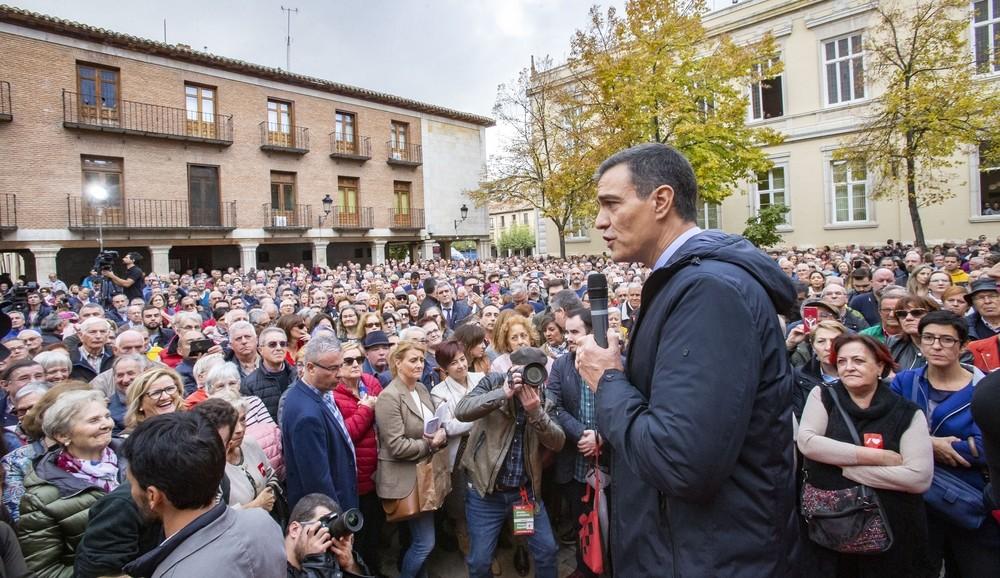 Sánchez defiende un Estado del Bienestar fuerte