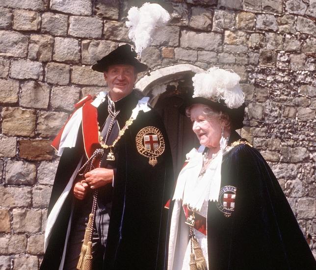 Felipe VI ya es caballero de la Orden de la Jarretera