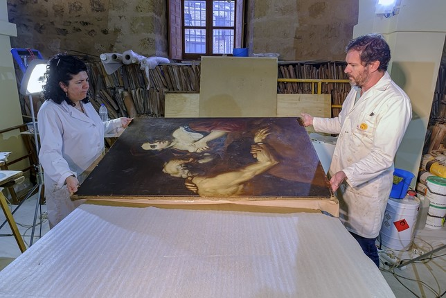 La intrahistoria del fascinante óleo La caridad romana