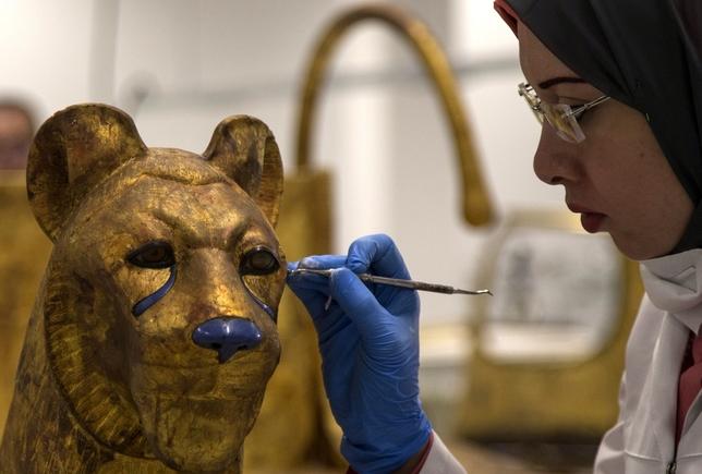 Tutankamón recupera su resplandor