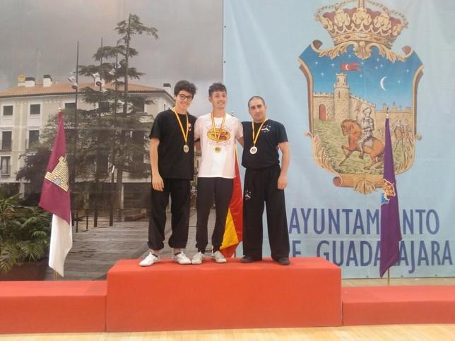 El Club Lao Jia Wu Shu se lleva dos medallas en Guadalajara