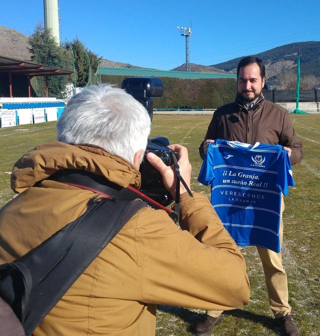 Diego Yepes asume el reto de salvar a La Granja con ambición