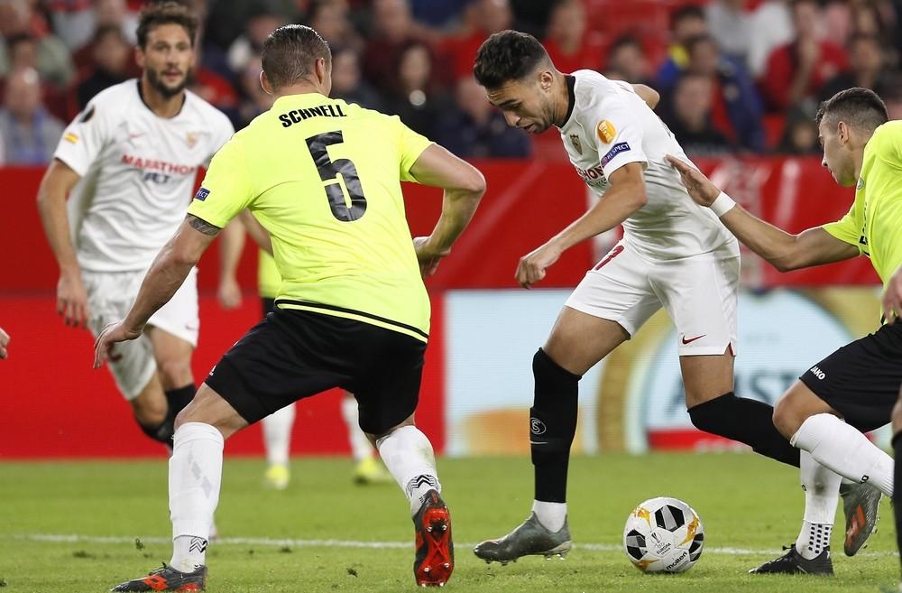 El Sevilla saca pecho en la segunda parte