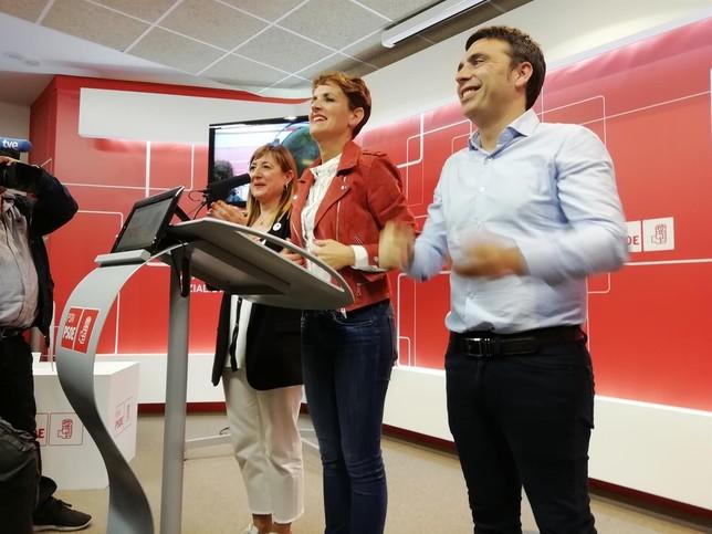 """Un resultado """"extraordinario"""" para los socialistas navarros"""