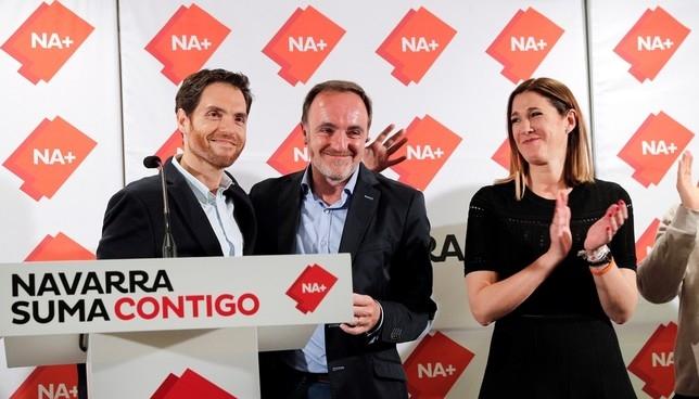 Navarra Suma defiende la unión como acierto tras el 28-A