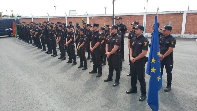 Policía Nacional incorpora 44 nuevos miembros en Navarra