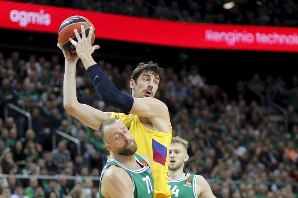 El Barça sobrevive al Zalgirio Arena