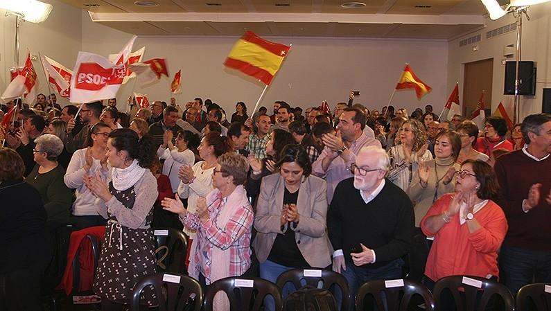 El PSOE provincial cierra la campaña en Puertollano