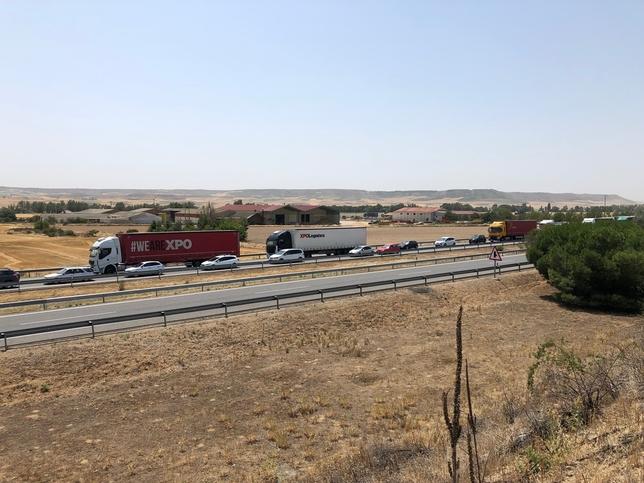 El incidente obstaculiza la circulación en sentido Burgos.