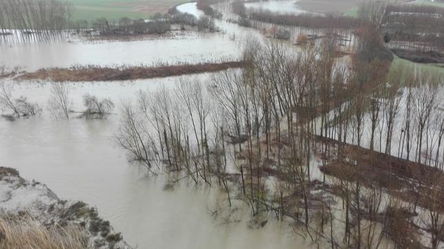Pendientes de los desbordamientos: así transcurren los ríos