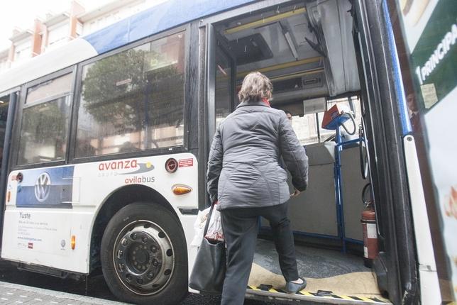 Crecen un 8,06% los viajeros del autobús urbano en Ávila Diario de Á?vila Lola Ortiz