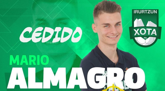 El Betis cede a Mario Almagro a Xota