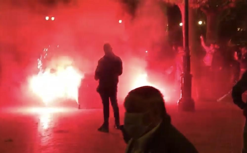 Galería de fotos de las cargas policiales en El Espolón de Logroño