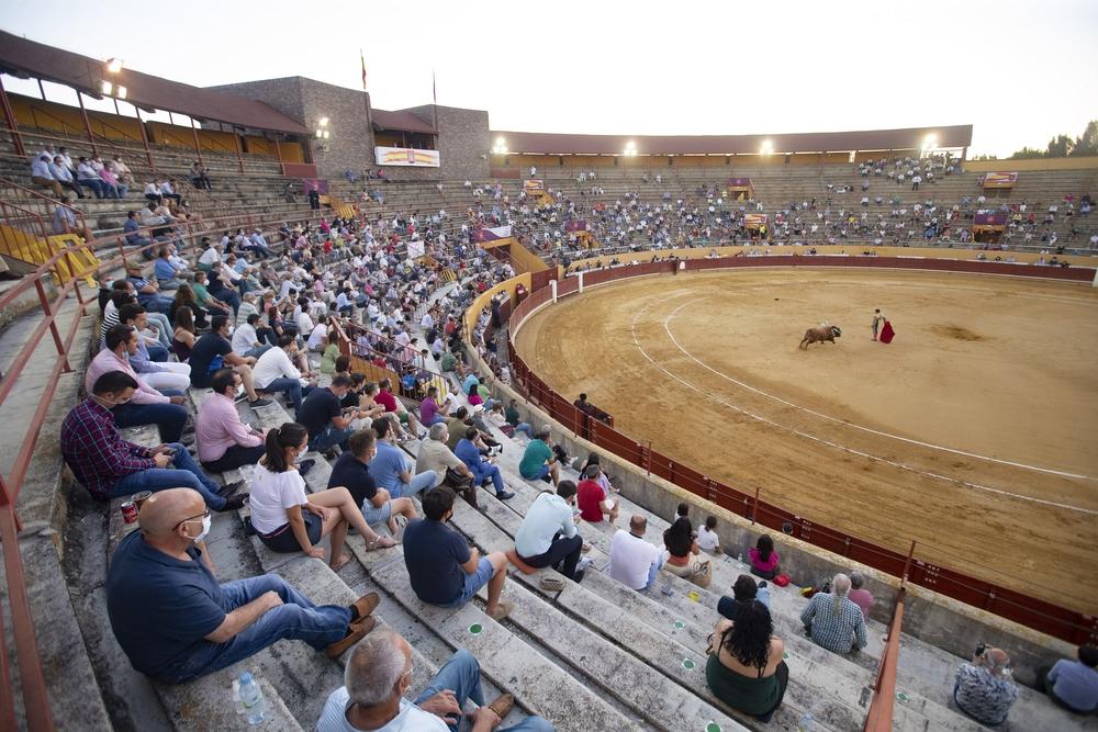 Primera corrida de toros en Ávila tras la crisis sanitaria.