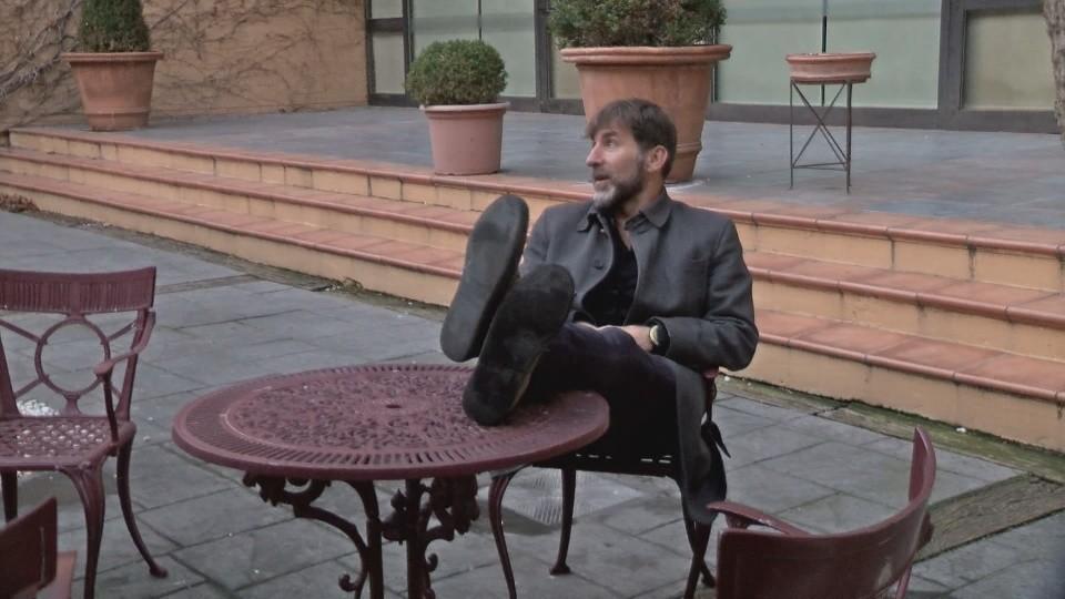 Tudela, en el centro del cine con Antonio de la Torre