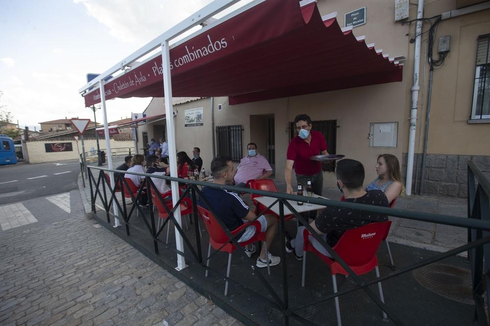 Apertura de terrazas de bares, fase 1 desescalada.