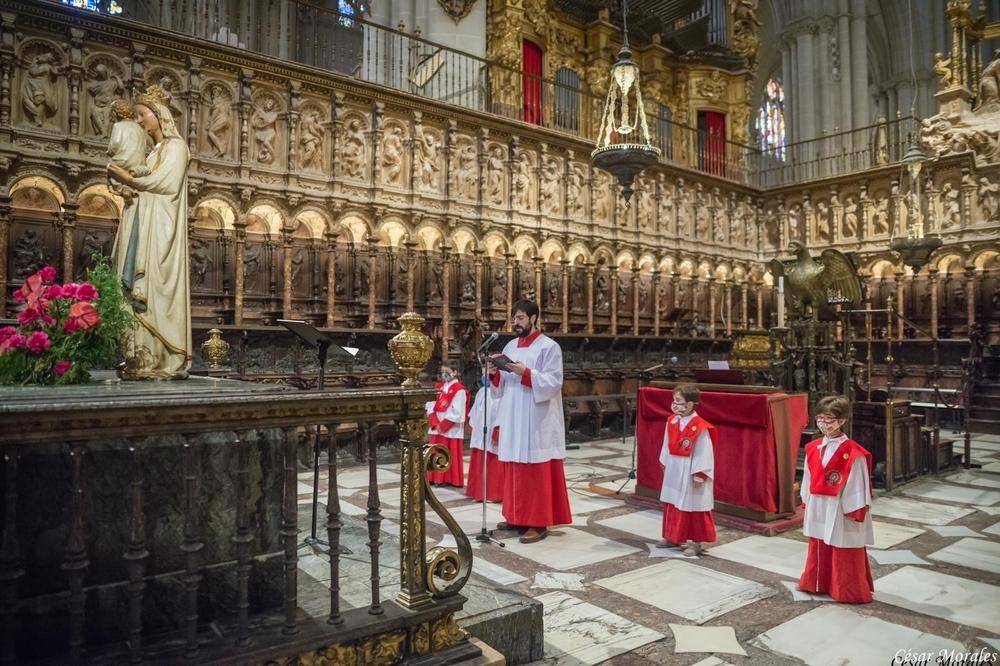 Los Seises de Toledo cantan para su Corpus