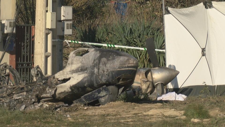 Investigadores de accidentes aéreos se trasladan a Noáin