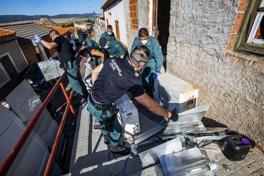 14 detenidos en una macro operación antidroga en Puertollano