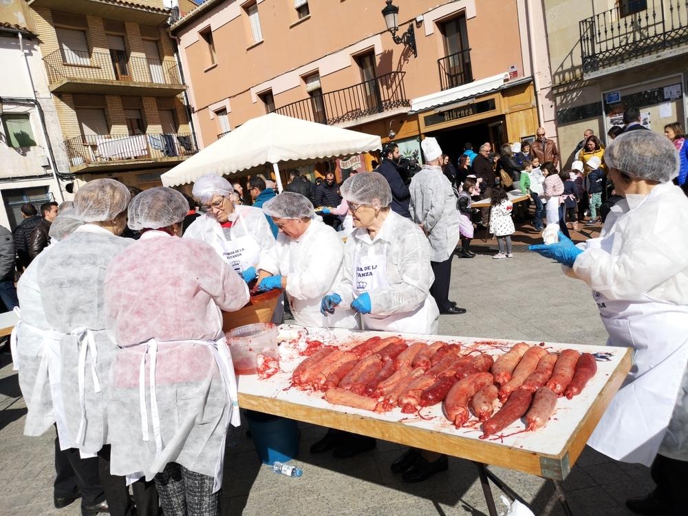 Oda a los manjares del cerdo en Ólvega