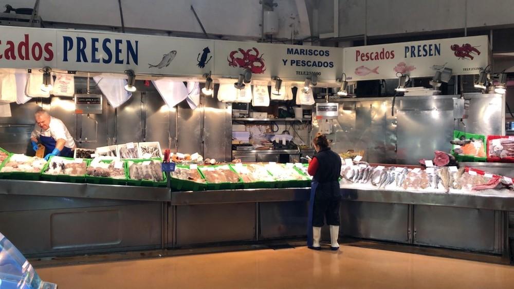 Lo nunca visto: el Mercado del Ensanche, totalmente vacío