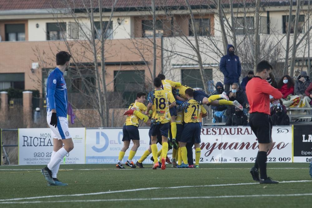 Partido de fútbol Diocesano - Real Á?vila.