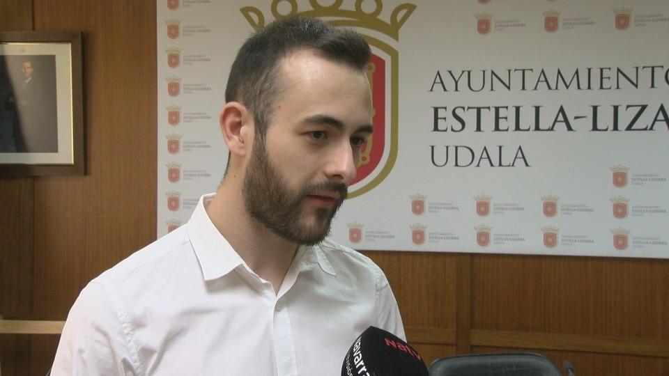 Jorge Crespo no se va del Ayuntamiento de Estella