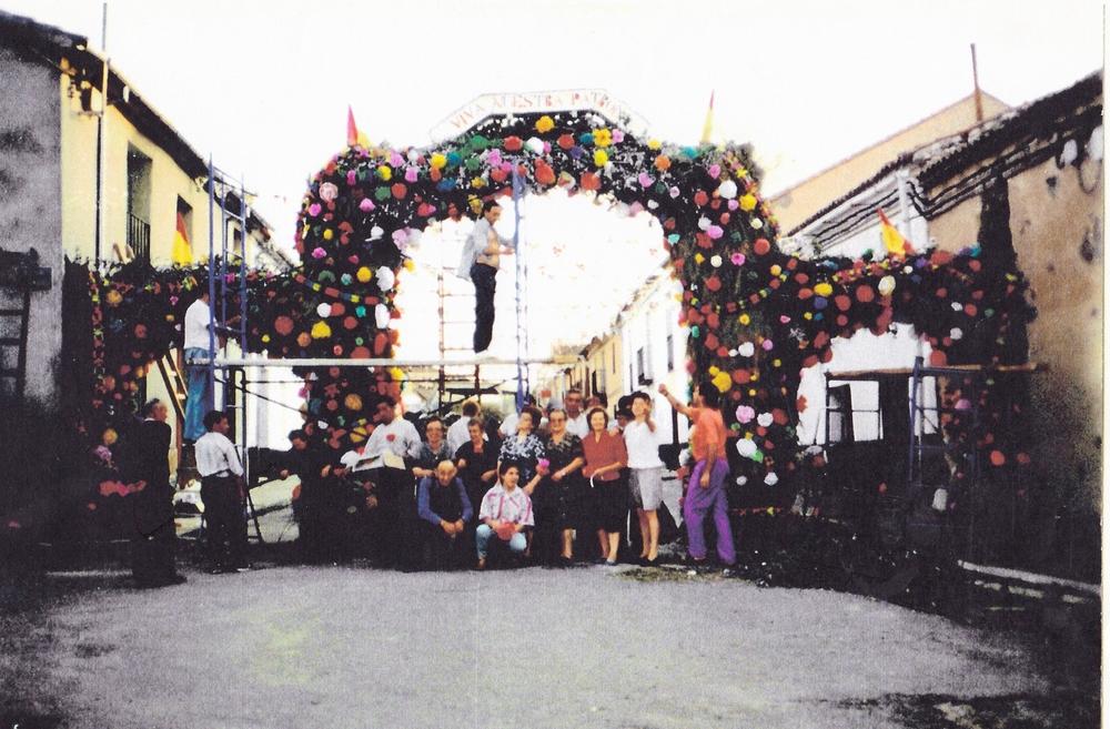 Fotos antiguas de la Subida de la Virgen de Bernardos y de la Feria de Cuéllar