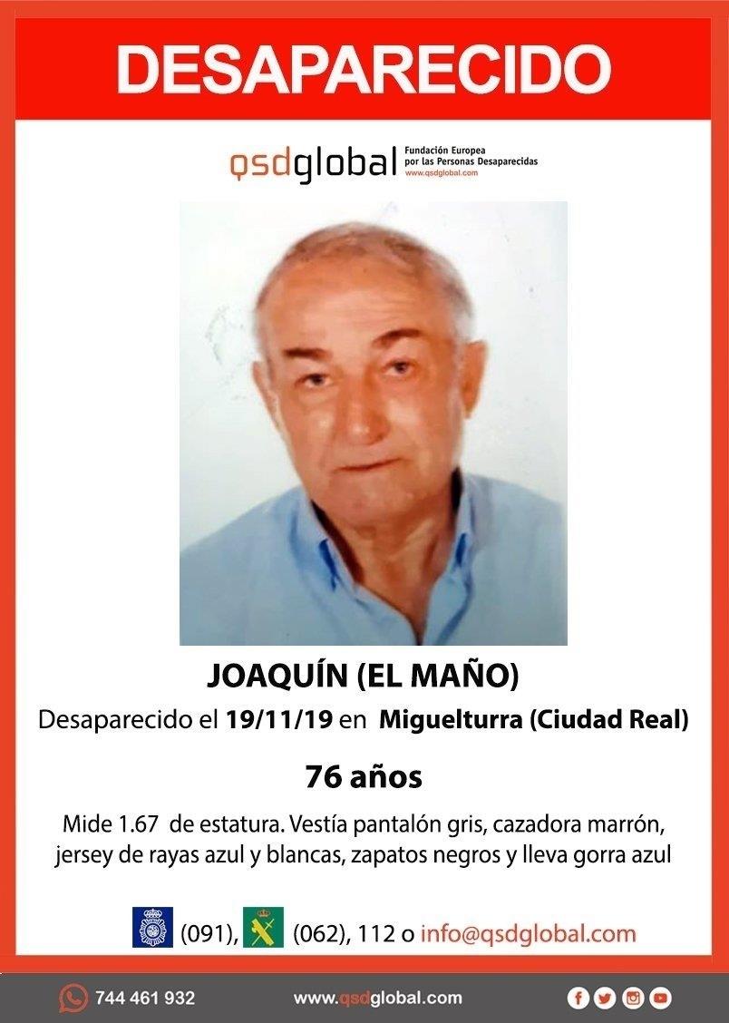 Hallan muerto al hombre desaparecido en Miguelturra