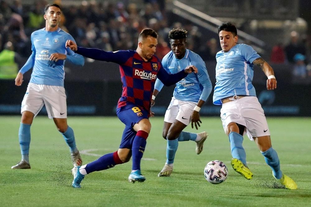 Griezmann salva al Barça del batacazo